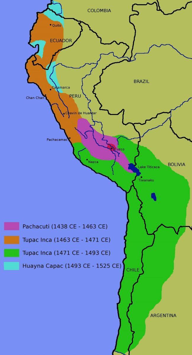 Descubre Cual Era La Ubicacion Geografica De Los Incas
