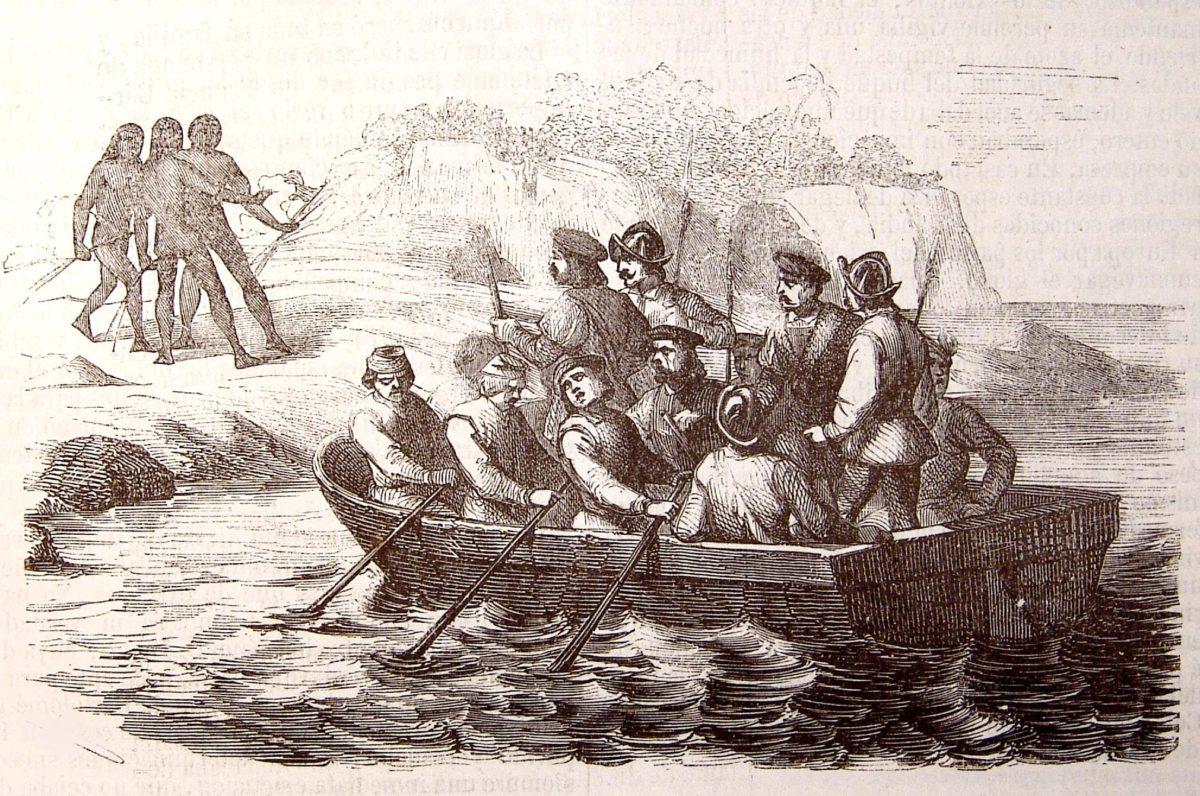 viajes de Cristóbal Colón
